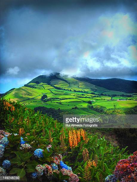 Azores Painting Beautiful Land