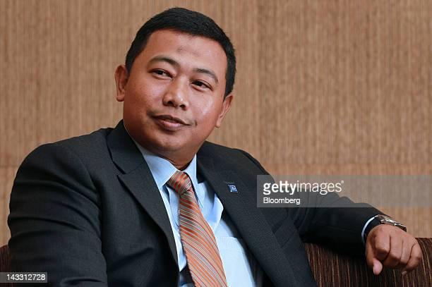 Azrulnizam Abdul Aziz chief executive officer of Al Rajhi Bank listens during an interview in Kuala Lumpur Malaysia on Wednesday April 18 2012 Saudi...