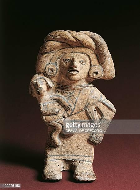 Aztec civilization Mexico 15th century Female figurine