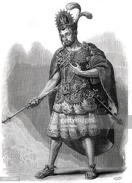 Aztec Emperor Montezuma or Moctezuma II Ruler of the Ancient Aztec Empire Mexico