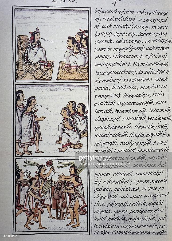Aztec society... : News Photo
