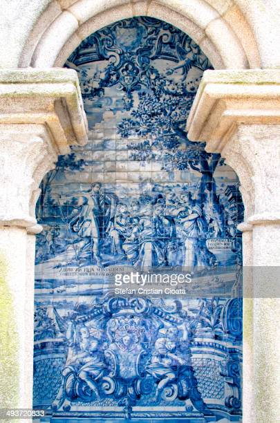 CONTENT] Azulejo is a form of Portuguese or Spanish painted tinglazed ceramic tilework It has become a typical aspect of Portuguese culture having...