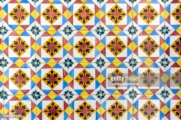 azulejos - tiled floor stock pictures, royalty-free photos & images