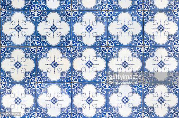 azulejos - mediterranean culture stock pictures, royalty-free photos & images