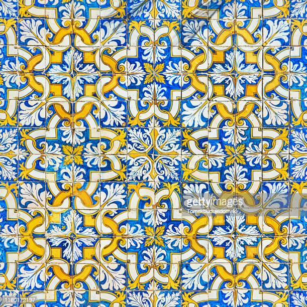 azulejos - spanish culture stock pictures, royalty-free photos & images