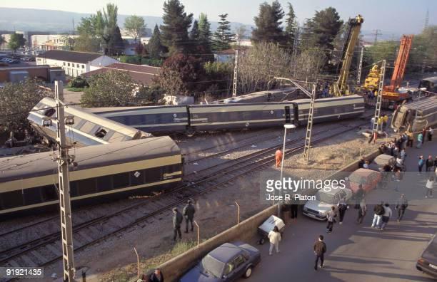 1997 Azuqueca de Henares Guadalajara Spain Accidente ferroviaro Dos fallecidos