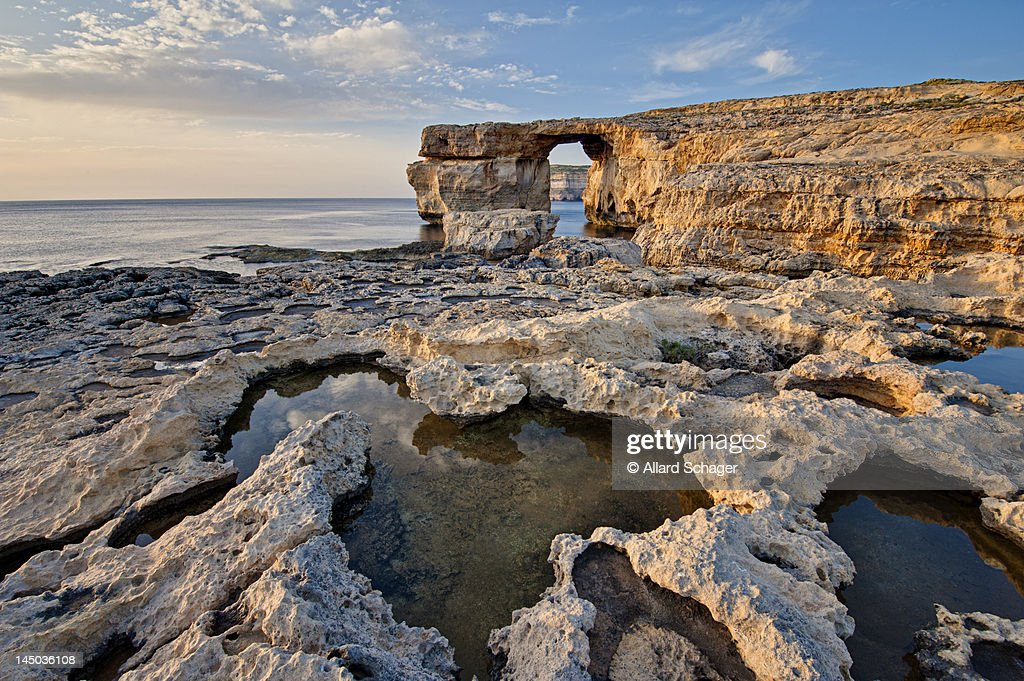 Azure Window, Gozo : Stock Photo