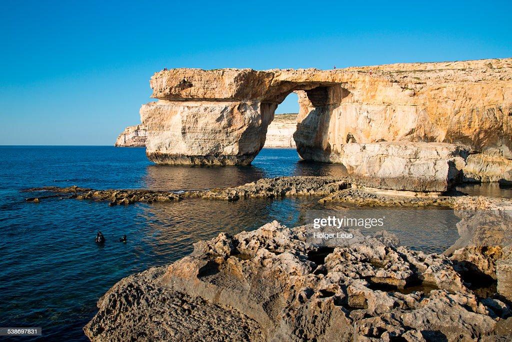 Azure Window rock formation : Stock Photo