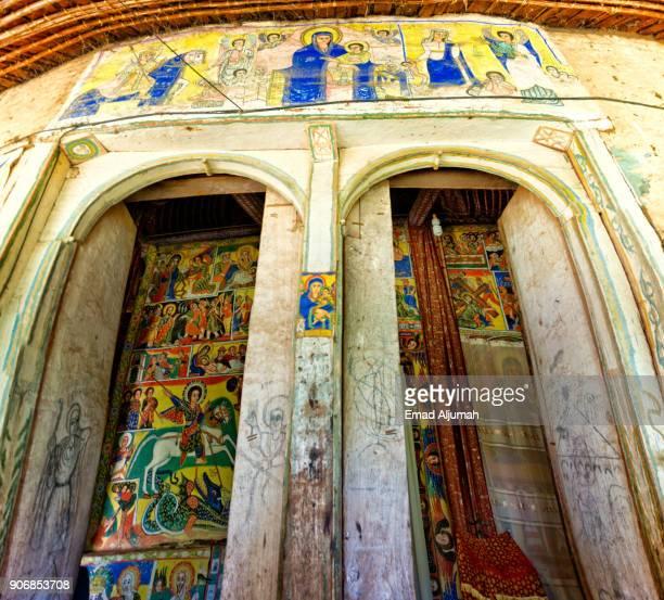 Azwa Maryam Monastery, Lake Tana, Bahir Dar, Ethiopia - December 2, 2017