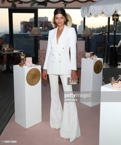 Azzaro Wanted Girl Global Ambassador and model Georgia Fowler attends the AZZARO Wanted Girl Launch Event at 1 Hotel West Hollywood on August 08 2019...