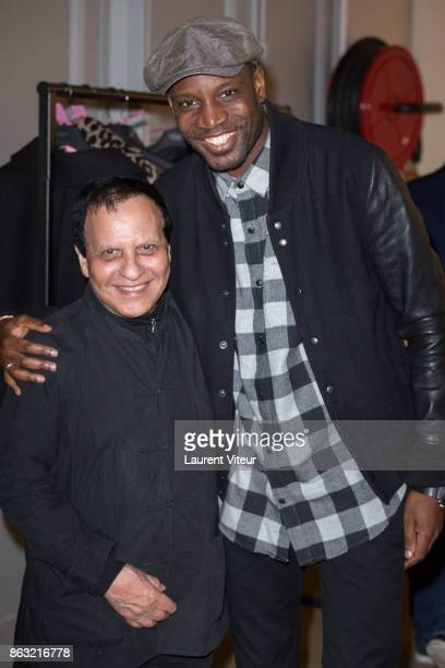 Azzedine Alaia and Abd Al Malik attend 'Tombeau pour Cinq Cent Mille Soldats' the Reading for 50th anniversary of the book at Azzedine Alaia Gallery...