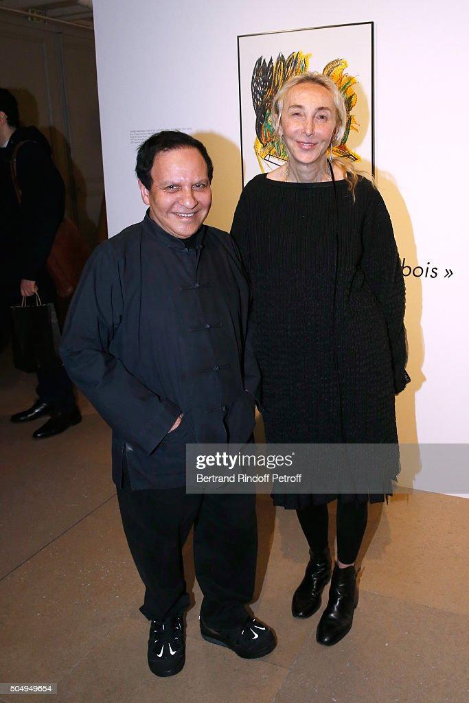 'Jean Nouvel And Claude Parent, Musees A Venir' Exhibition Opening In Paris