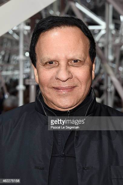Azzedine Alaia attends the Christian Dior show as part of Paris Fashion Week Haute Couture Spring/Summer 2015 on January 26 2015 in Paris France