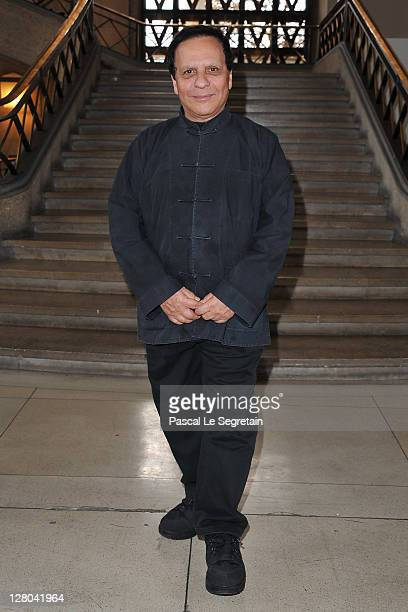 Azzedine Alaia attends the Miu Miu Ready to Wear Spring / Summer 2012 show during Paris Fashion Week on October 5 2011 in Paris France