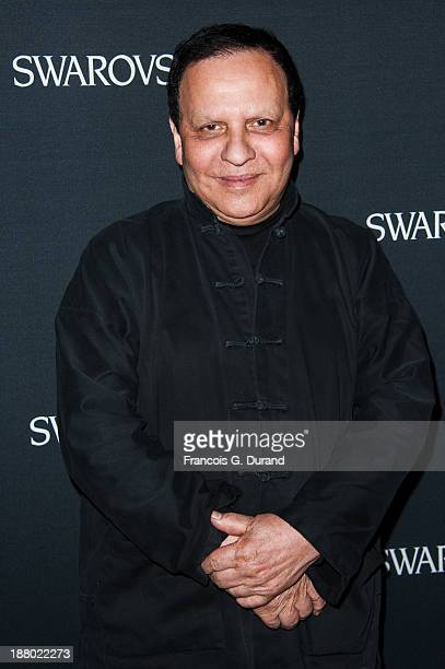 Azzedine Alaia attends the Swarovski Dinner In Honor of the Bouroullec Brothers at Chateau de Versailles on November 14 2013 in Versailles France