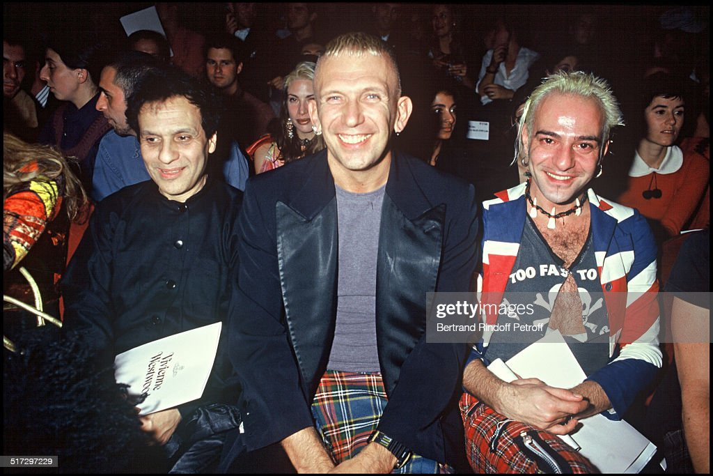 Azzedine Alaia, Jean Paul Gaultier and John Galliano - Ready to wear fashion show spring summer 1994 collection in Paris.