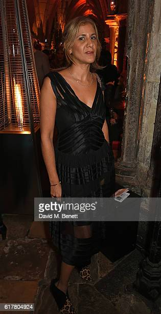 Azzi Glasser attends Marvel Studios and British GQ hosted reception in The Cloisters at Westminster Abbey, to celebrate the release of Doctor Strange...