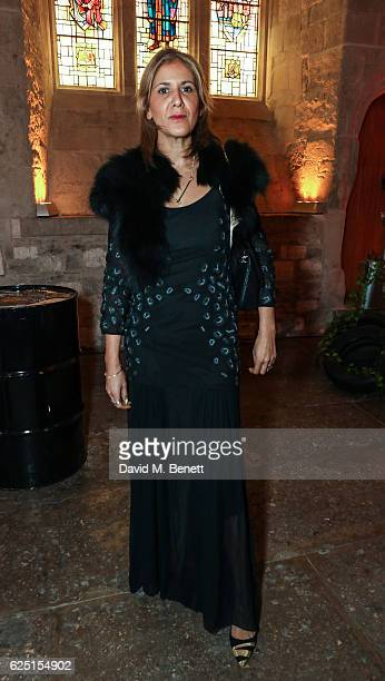 Azzi Glasser attends the Save The Children Winter Gala at The Guildhall on November 22 2016 in London England