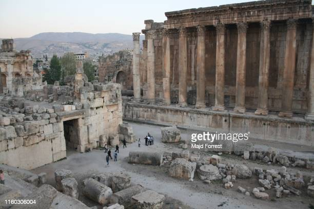 baalbek, beqaa valley, lebanon - lebanon stock pictures, royalty-free photos & images