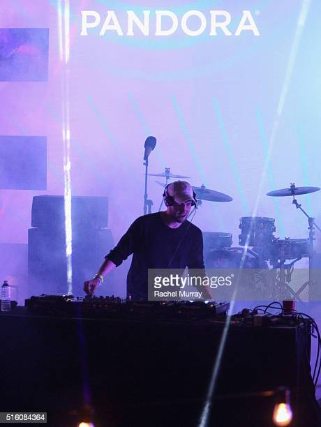 Baauer performs onstage during the PANDORA Discovery Den SXSW on March 16 2016 in Austin Texas