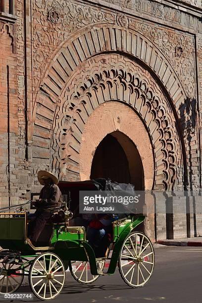 Bab Agnou, Marrakesch, Marokko, Afrika.