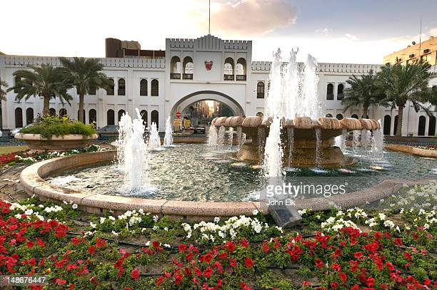 bab al bahrain in downtown. - arch stock pictures, royalty-free photos & images