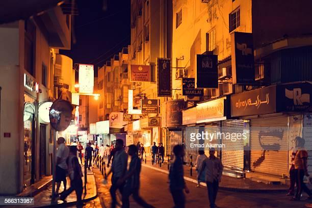 bab al-bahrain souq (market), manama, bahrain - manama stock pictures, royalty-free photos & images