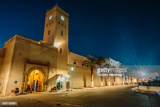 bab marrakech - essaouira medina - morocco - christine wehrmeier stock photos and pictures