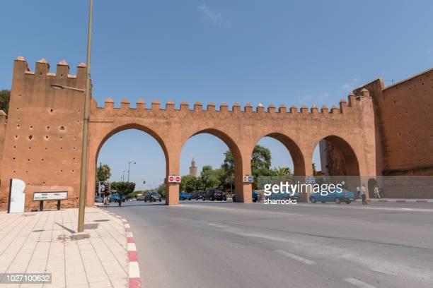 bab rouah, rabat, maroc - rabat maroc photos et images de collection
