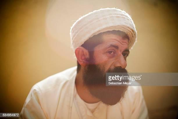 Baba Chowish, the keeper of the holy Yezidi temple of Lalish. Yezidis are a religious minority in northwestern Iraq. Although Iraqi Kurdistan was a...
