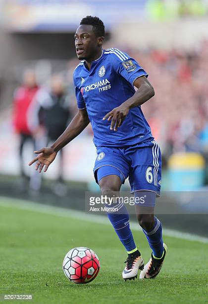Baba Rahman of Chelsea during the Barclays Premier League match between Swansea City and Chelsea at the Liberty Stadium on April 9 2016 in Swansea...