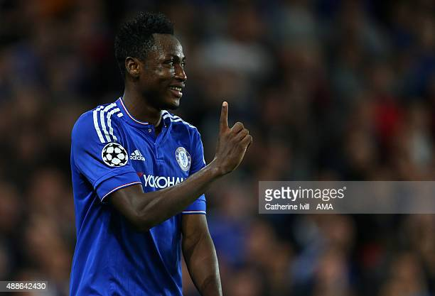 Baba Rahman of Chelsea during the UEFA Champions League match between Chelsea and Maccabi TelAviv at Stamford Bridge on September 16 2015 in London...