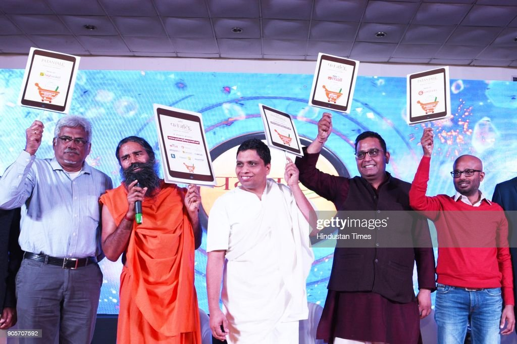 Baba Ramdev's Patanjali Goes Online, ties with Eight Leading E-Tailers