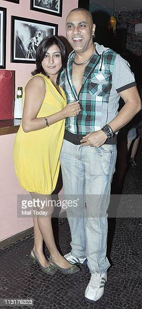 Baba Sehgal at Kushal Punjabi's birthday bash at Andheri Mumbai on April 25 2011