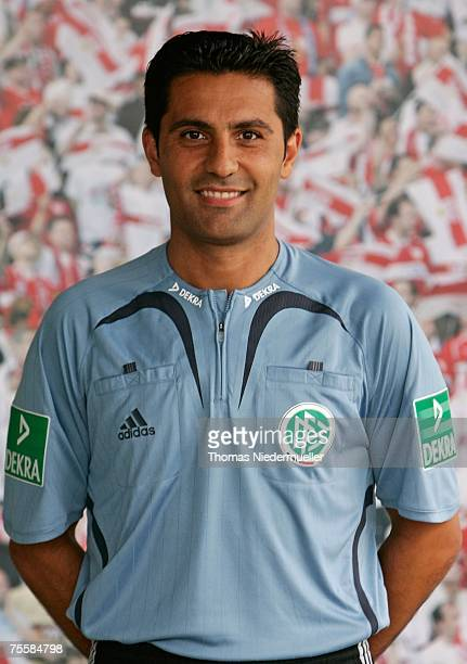 Babak Rafati is seen during the German Football Association Referee meeting and press conference on July 21 2007 in Altensteig Germany