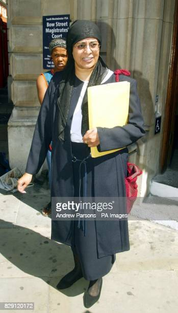 Babar Ahmad Solicitor Muddussar Arani outside Bow Street Magistrates after Babar Ahmad of Fountain Road Tooting south London appeared following his...