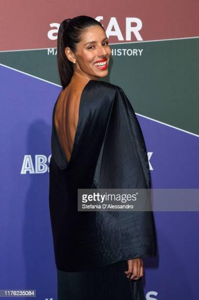 Babba RIvera attends the amfAR Gala Milano 2019 at Palazzo Mezzanotte on September 21, 2019 in Milan, Italy.