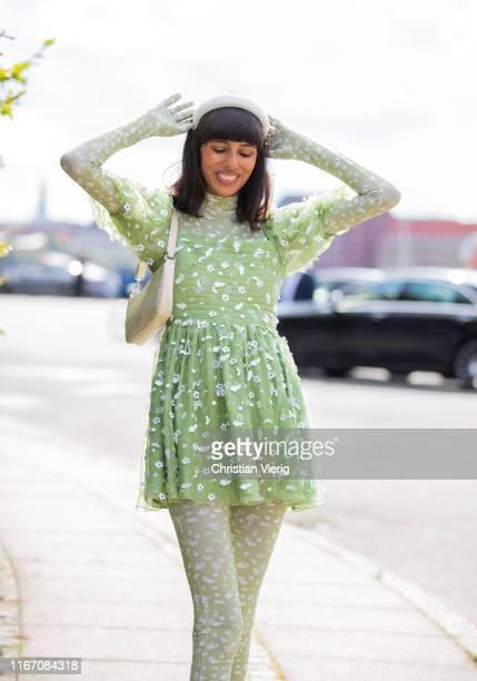 Babba Rivera is seen outside Stine Goya during Copenhagen Fashion Week Spring/Summer 2020 on August 08, 2019 in Copenhagen, Denmark.