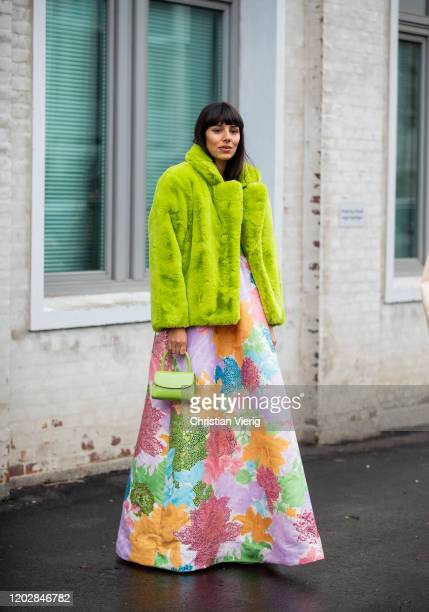 Babba Rivera seen outside Cecilie Bahnsen during Copenhagen Fashion Week Autumn/Winter 2020 Day 2 on January 29, 2020 in Copenhagen, Denmark.