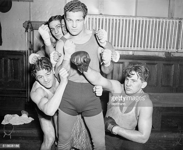 Babe Risko, new middleweight sensation, has encountered a minor impasse, the scarcity of sparring partners able to stand up against him in his daily...