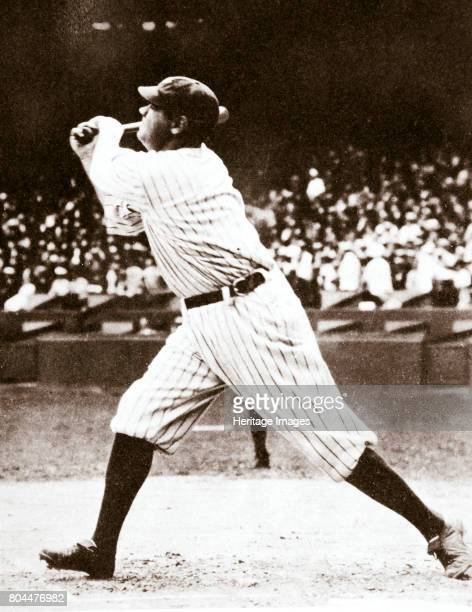 Babe Ruth American baseball player c1914c1935 Christened George Herman Ruth Jr 'Babe' Ruth was one of the greatest baseball players of all time He...