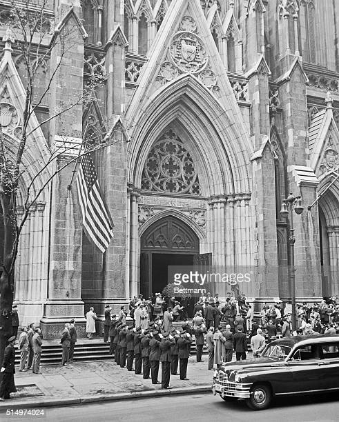 Babe Ruth body carried into cathedral for servicesThe casket containing the body of Babe Ruth beloved Bambino is carried into St Patrick's cathedral...