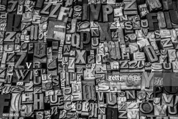 babel - text schriftsymbol stock-fotos und bilder