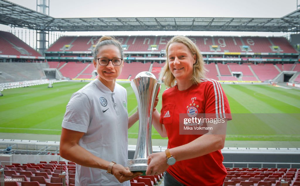 Women's DFB Cup Press Conference And Photo Call