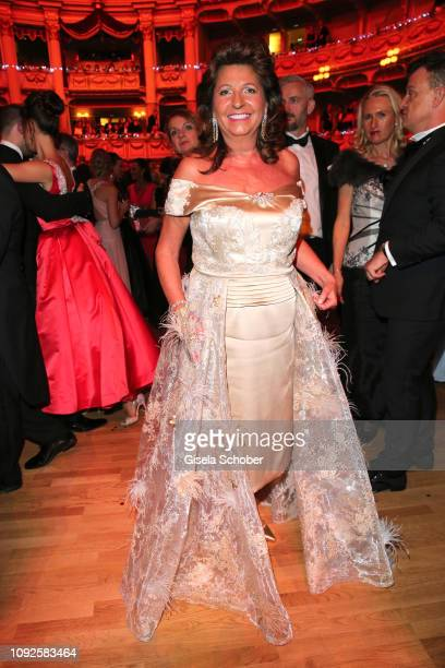 Babette Albrecht during the 14th Semper Opera Ball 2019 at Semperoper on February 1 2019 in Dresden Germany