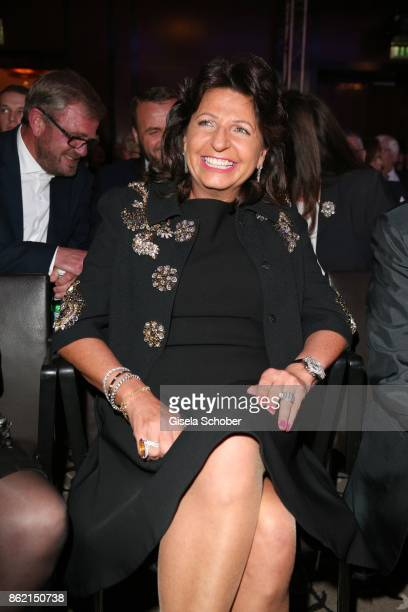 Babette Albrecht widow of Berthold Albrecht Aldi during the 2oth Busche Gala at The Charles Hotel on October 16 2017 in Munich Germany