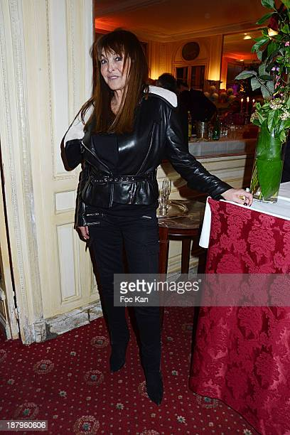 Babette Djian attends the Karl Lagasse At Mad Art Cocktail In Benefit of AMFE Children Care Association on November 13 2013 in Paris France