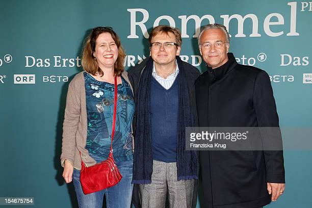 Babette Stein Niki Stein and Klaus J Behrendt attend the 'Rommel' TV Film Premiere at the Delphi Filmpalast on October 24 2012 in Berlin Germany