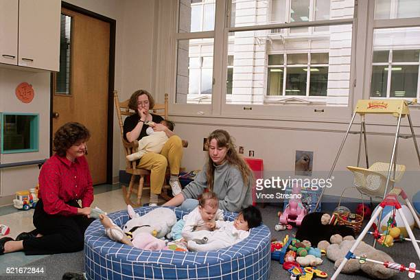 Babies and Workers at Day Care