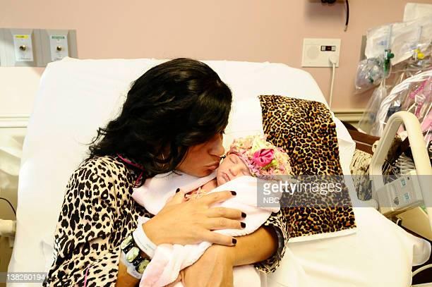 "Babies, Bubbles and Bubbies"" Episode 204 -- Pictured: Teresa Giudice, Audriana Giudice"